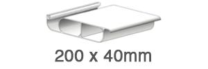 Lames aluminium double peau